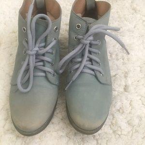 Soft blue Steve Madden Ankle boots